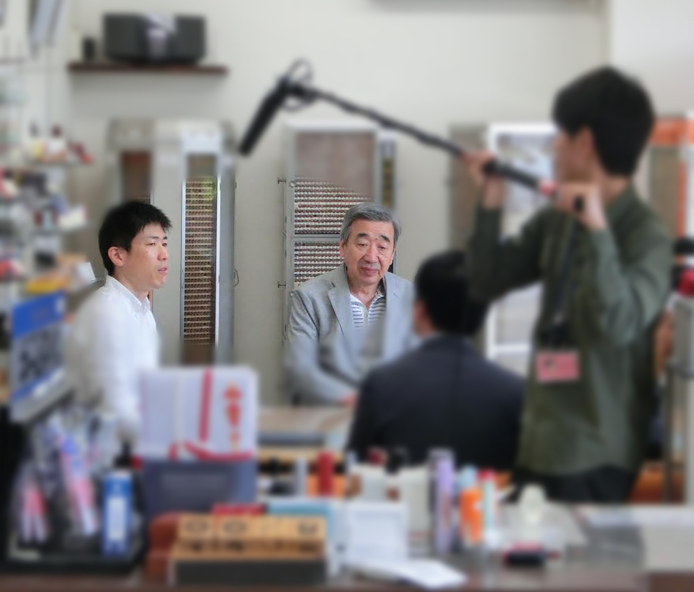 石川テレビ取材_四代目と五代目の話