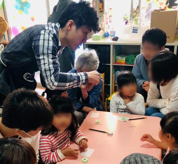 気仙沼市にてはんこ教室を開催