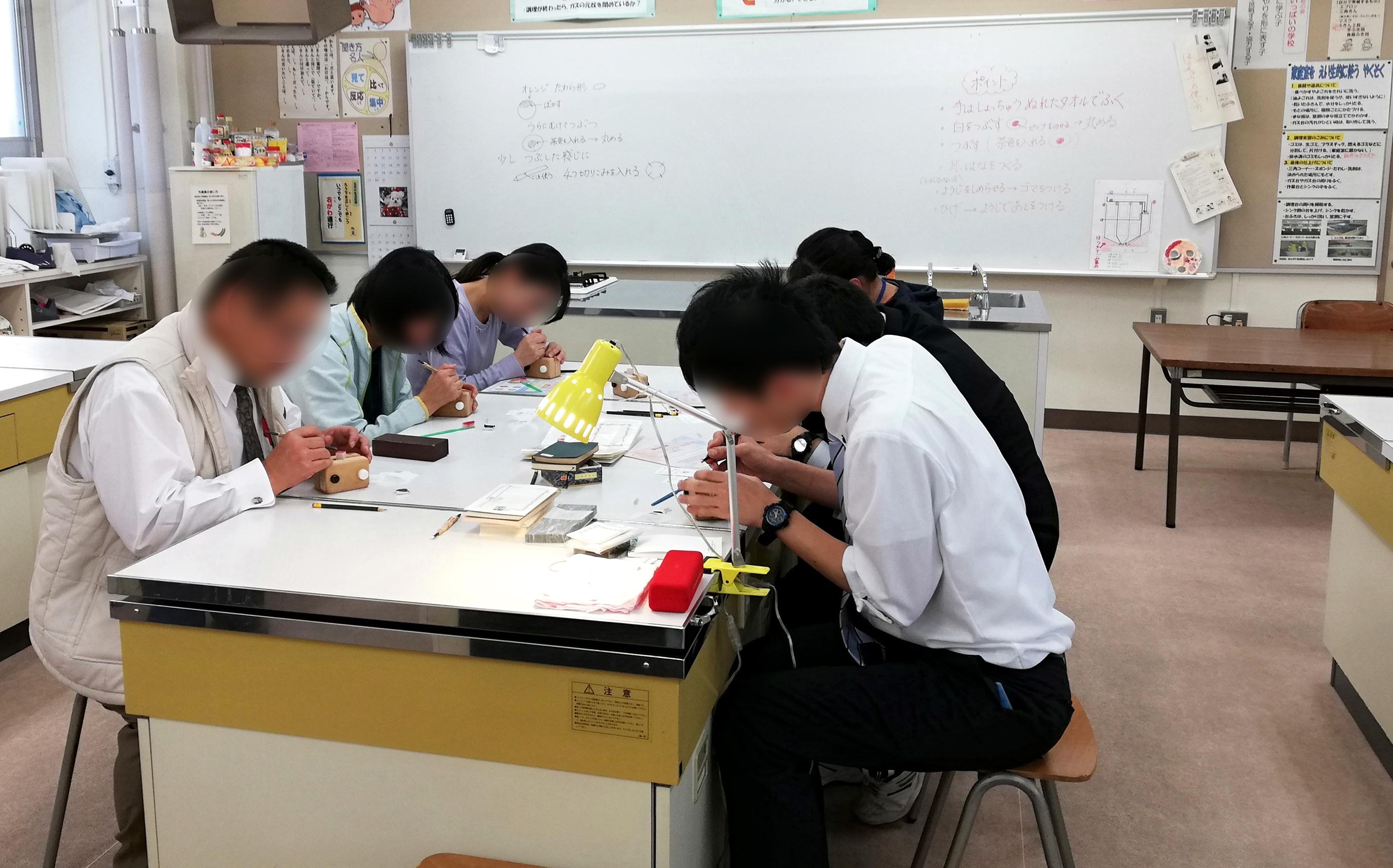 ものづくり教室in小坂